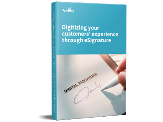 digitizing cx with esignature